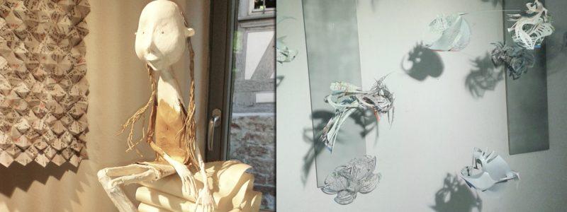 IAPMA Papier-unArtig Ausstellung in der Papiermühle Homburg und der Homburger Papierscheune