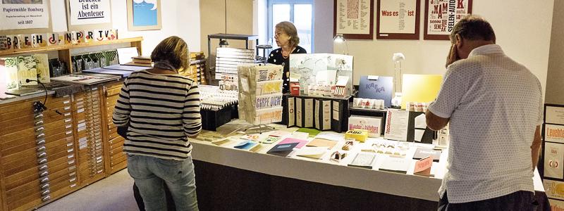 Papiermarkt Homburger Papiermanufaktur Papierscheune Homburg
